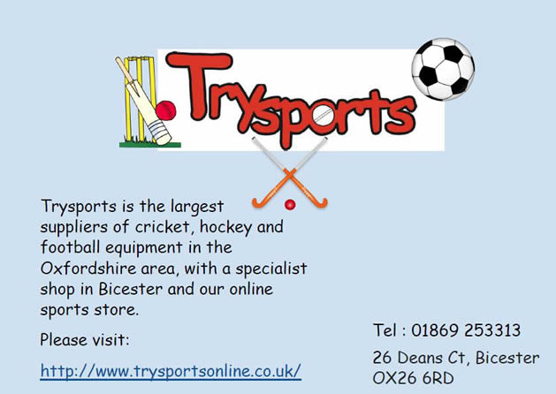 Sponsors of Chinnor Youth Football Club